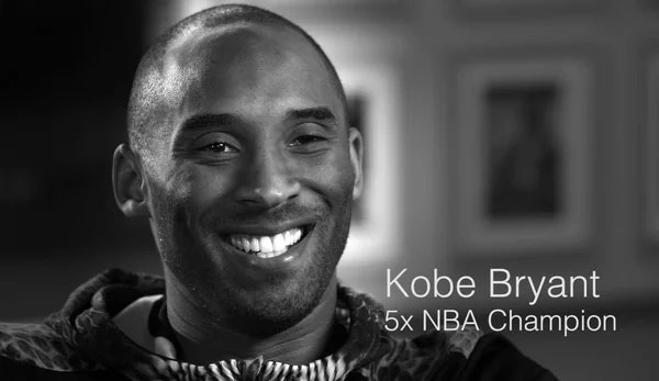 Kobe Bryant video image still