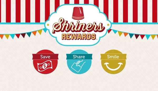Shriners Rewards video image still